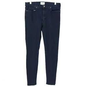 McGuire Jeans High Rise Skinny Ankle Blue Size 32